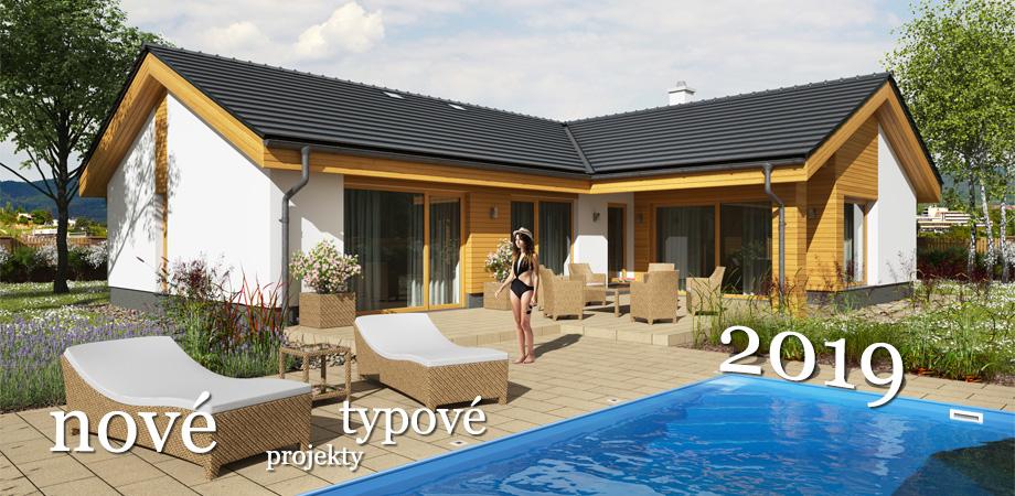 Hotové projekty rodinných domů